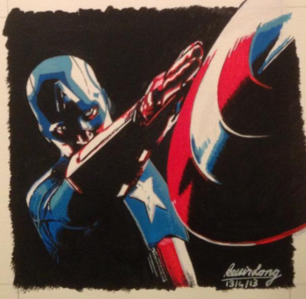 Captain America by KLARTWORK